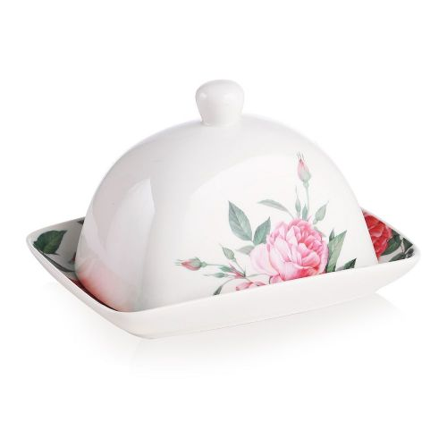Newbridge Rose Collection Butter Dish